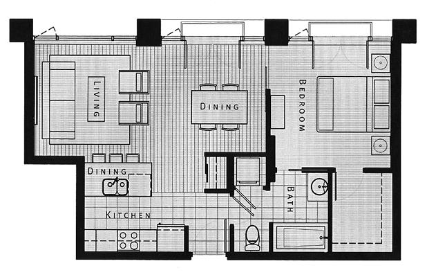 Juliet 1103 Floor Plan Victoria Royal Vacations Inc